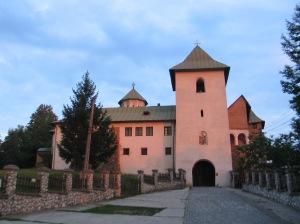 Manastirea Govora - Turnul de la intrare